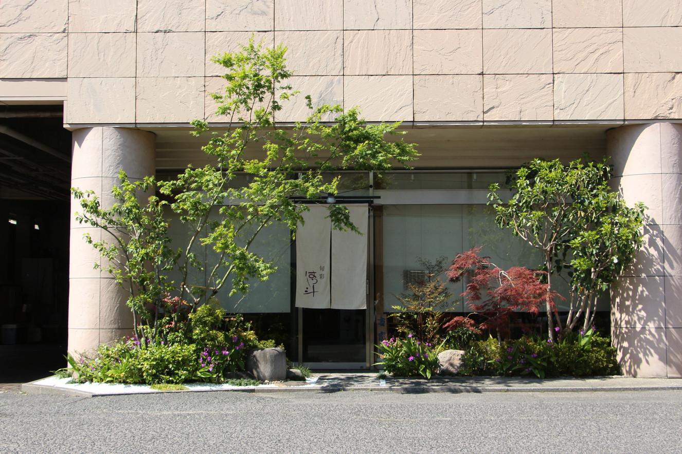 06/14 紅葉をくぐって ガーデン工事(リノベーション)