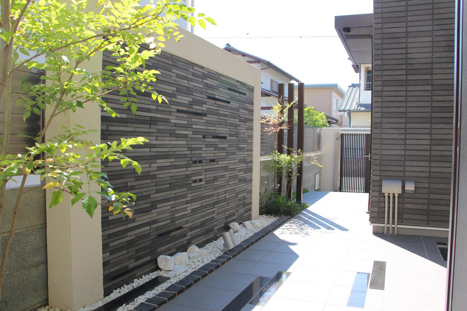 流れを感じる|ガーデン&エクステリア工事
