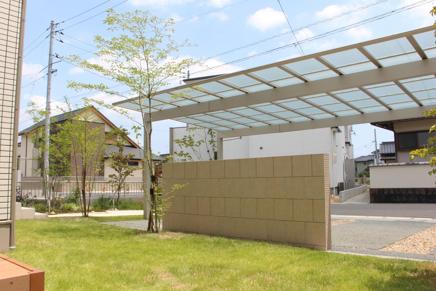 場を仕切る|ガーデン&エクステリア工事