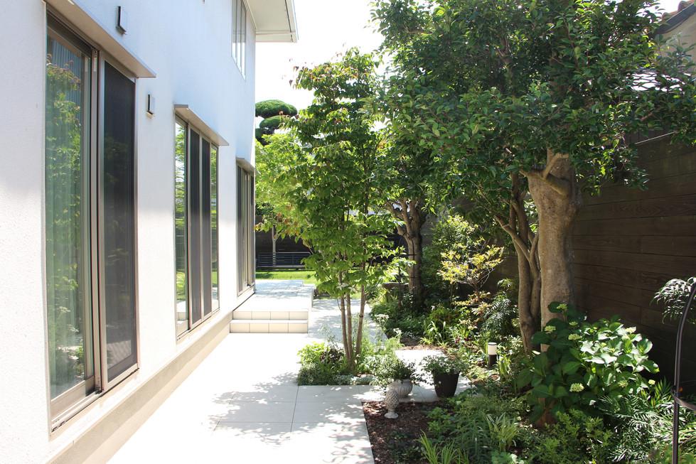 03/26 団居(まとゐ)の庭 ガーデン工事(リノベーション)