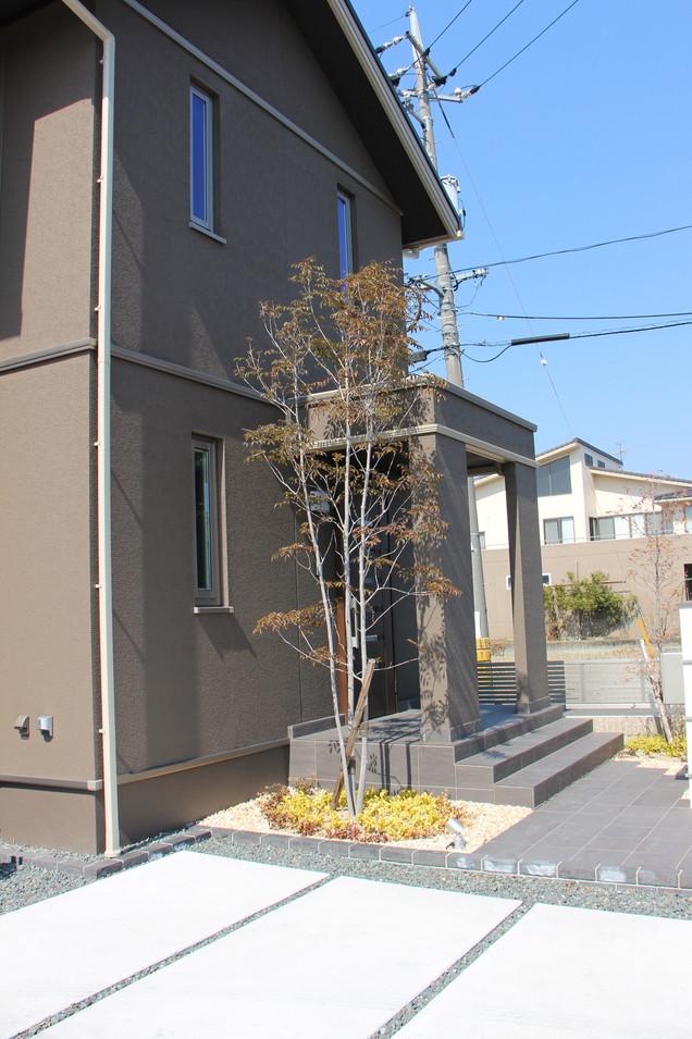 19/26 明瞭な色分け ガーデン&エクステリア工事