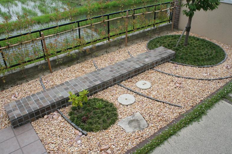 出迎えの庭 ガーデン工事