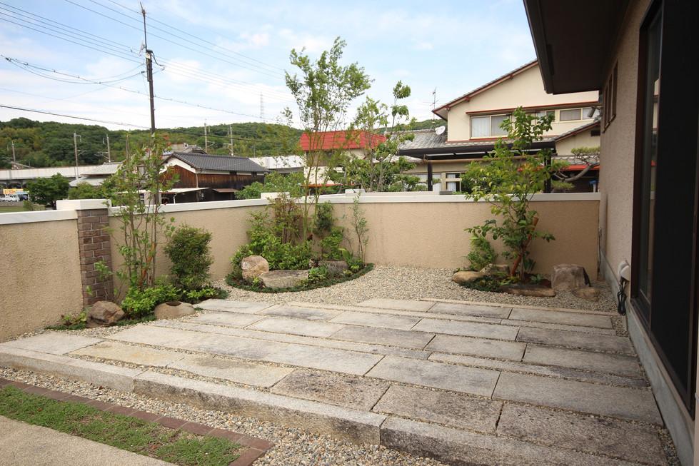 07/18 12年後の再開 ガーデン工事(リノベーション)