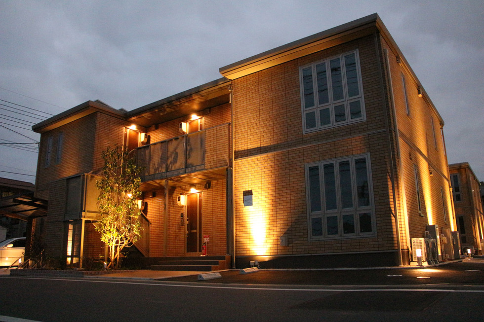 05/13 集合住宅の緑とあかり ガーデン工事+照明計画