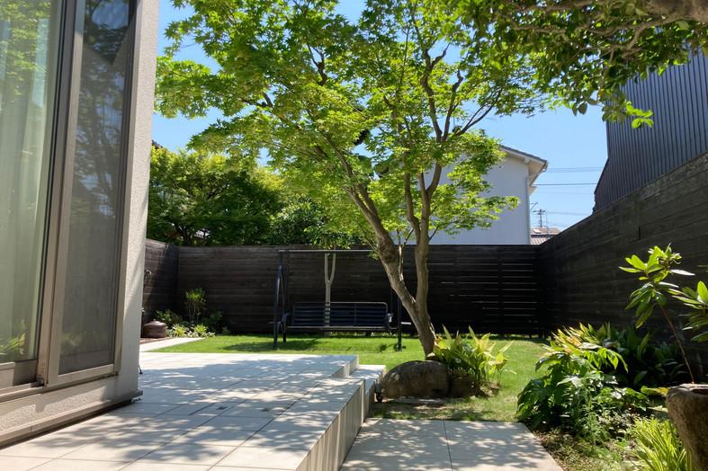 団居(まとゐ)の庭 ガーデン工事(リノベーション)