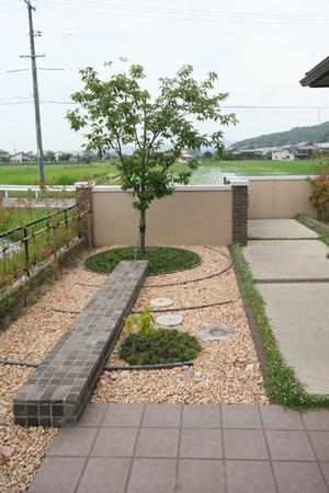04/11 出迎えの庭 ガーデン工事