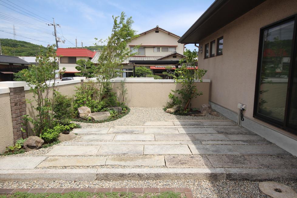 05/18 12年後の再開 ガーデン工事(リノベーション)