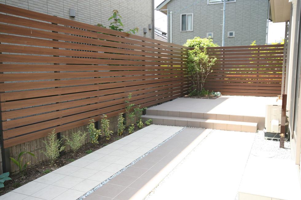 07/13 ローメンテナンスを目指した庭 ガーデン工事