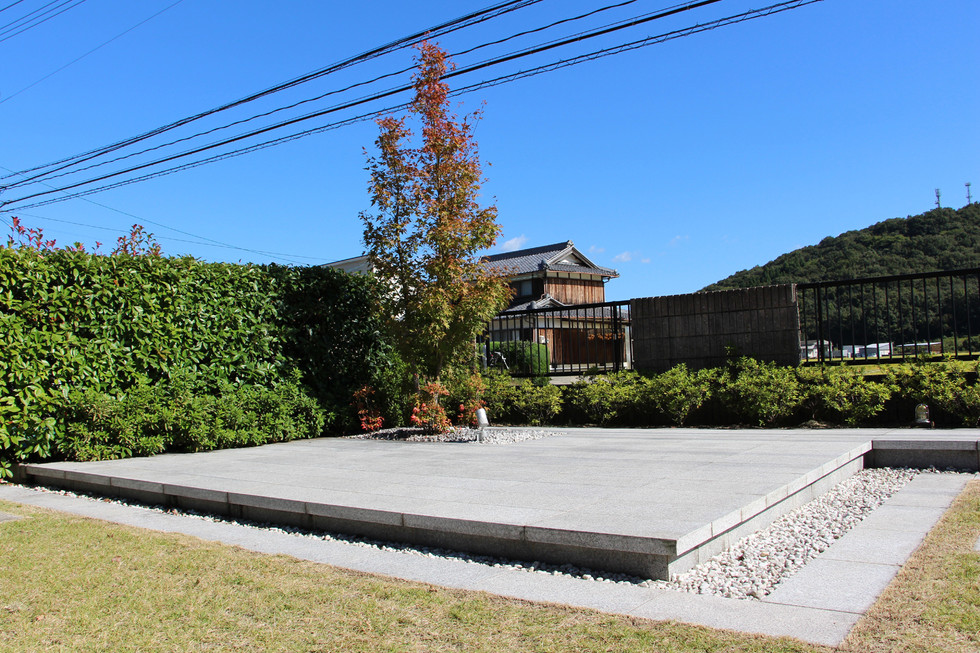 08/23 見立ての庭 ガーデン工事