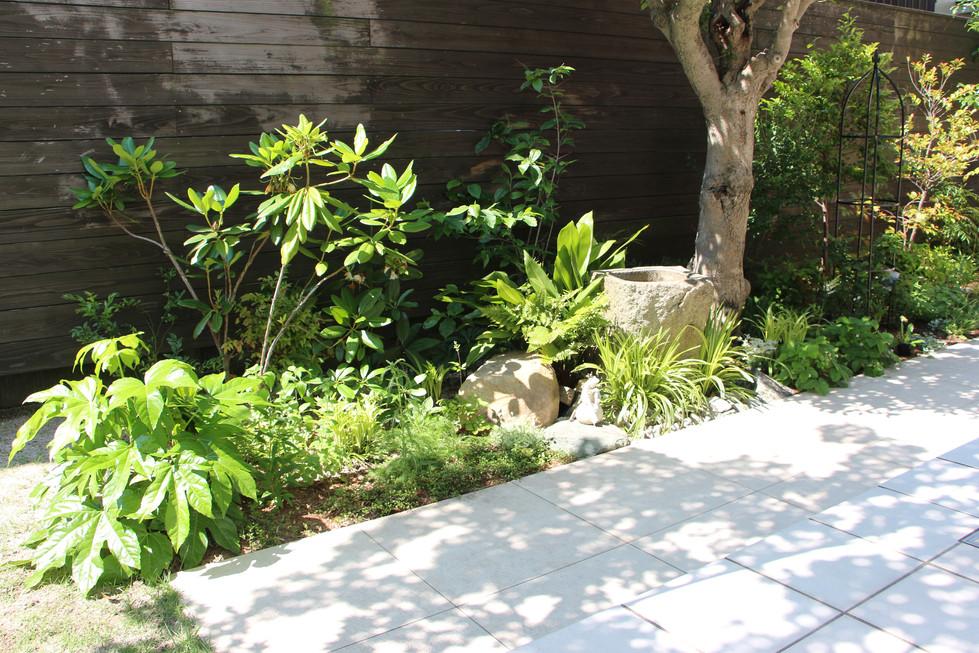 09/26 団居(まとゐ)の庭 ガーデン工事(リノベーション)