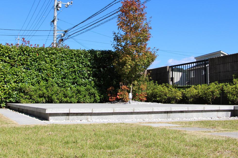 09/23 見立ての庭 ガーデン工事