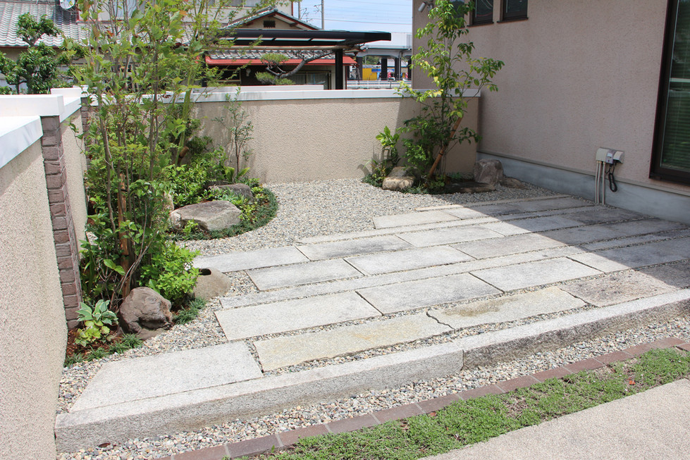 03/18 12年後の再開 ガーデン工事(リノベーション)