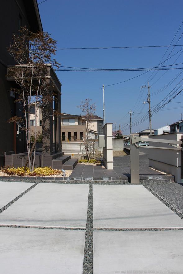 22/26 明瞭な色分け ガーデン&エクステリア工事