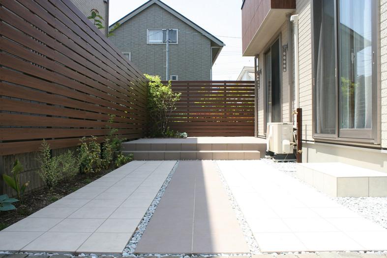 ローメンテナンスを目指した庭 ガーデン工事