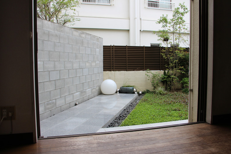 自邸 未完の庭 ガーデン工事(リノベーション)
