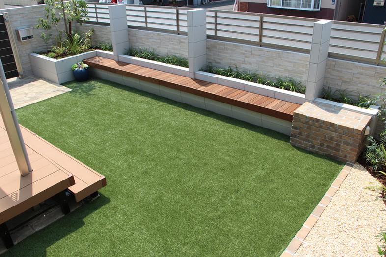 閉じて楽しむ ガーデン工事(リノベーション)