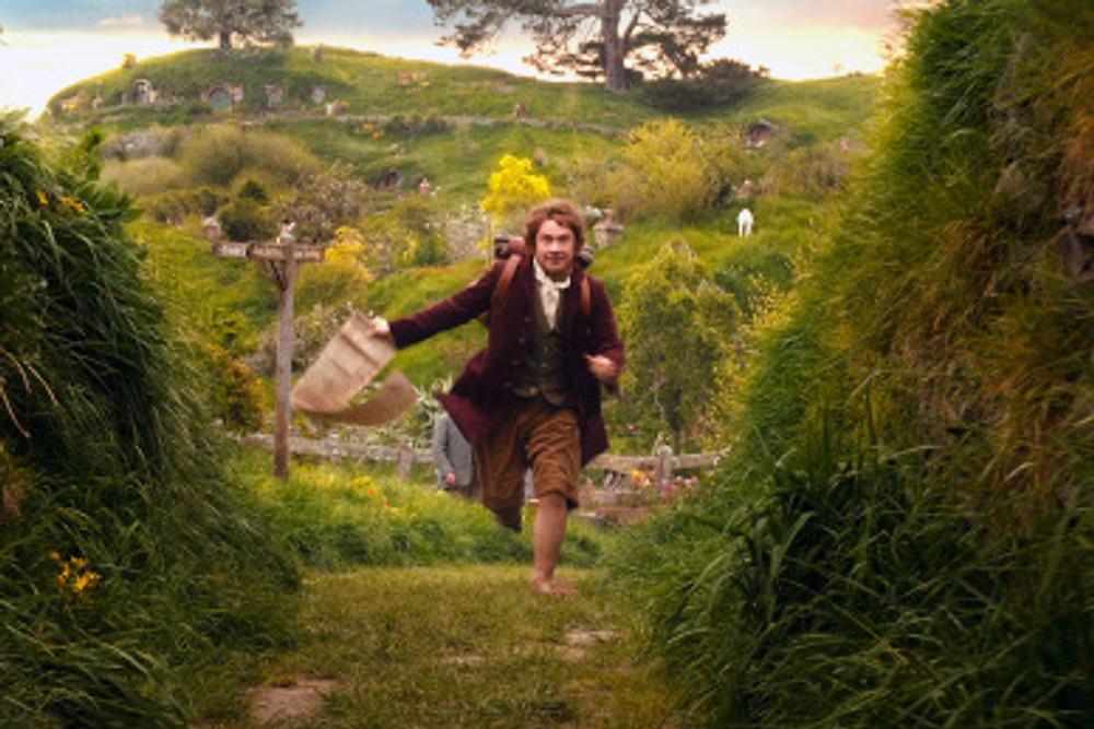 Bilbo Baggins in J.R.R. Tolkien's The Hobbit: An Unexpected Adventure.