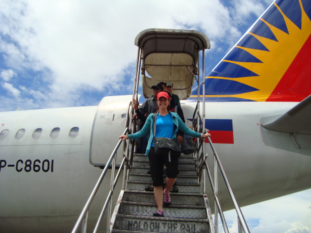 Landing in Butuan City, Philippines