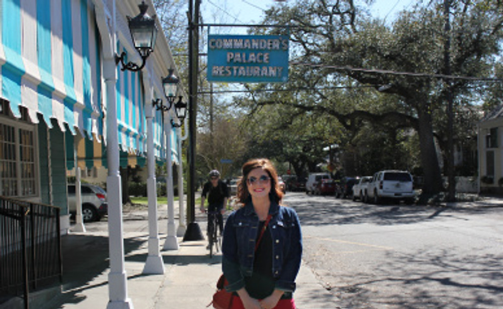Anniversary Lunch at the famous Commander's Palace located in the Garden District.