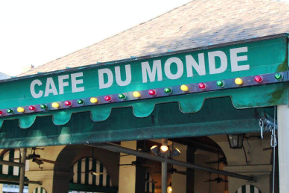 The famous Cafe du Monde.