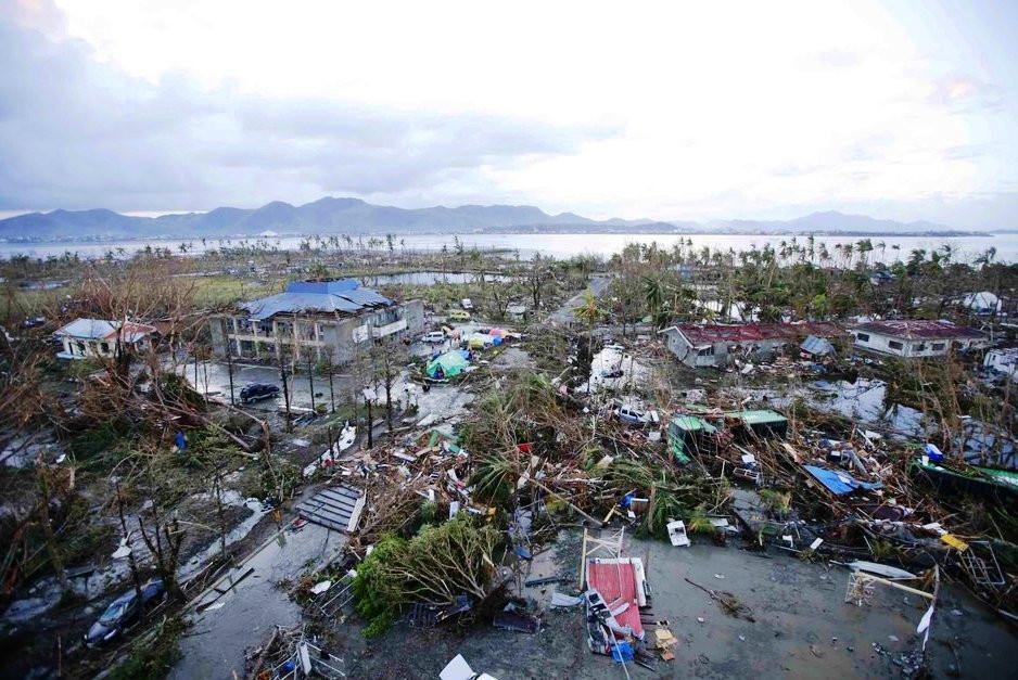 Philippines.Typhoon