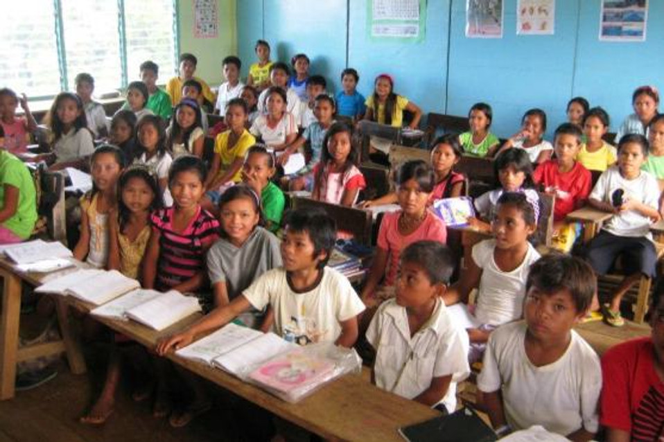 School in Pastor Ben's Tribe