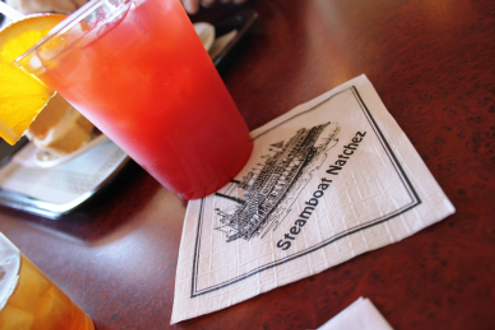 Jazz Lunch Cruise aboard the Natchez Steamboat.