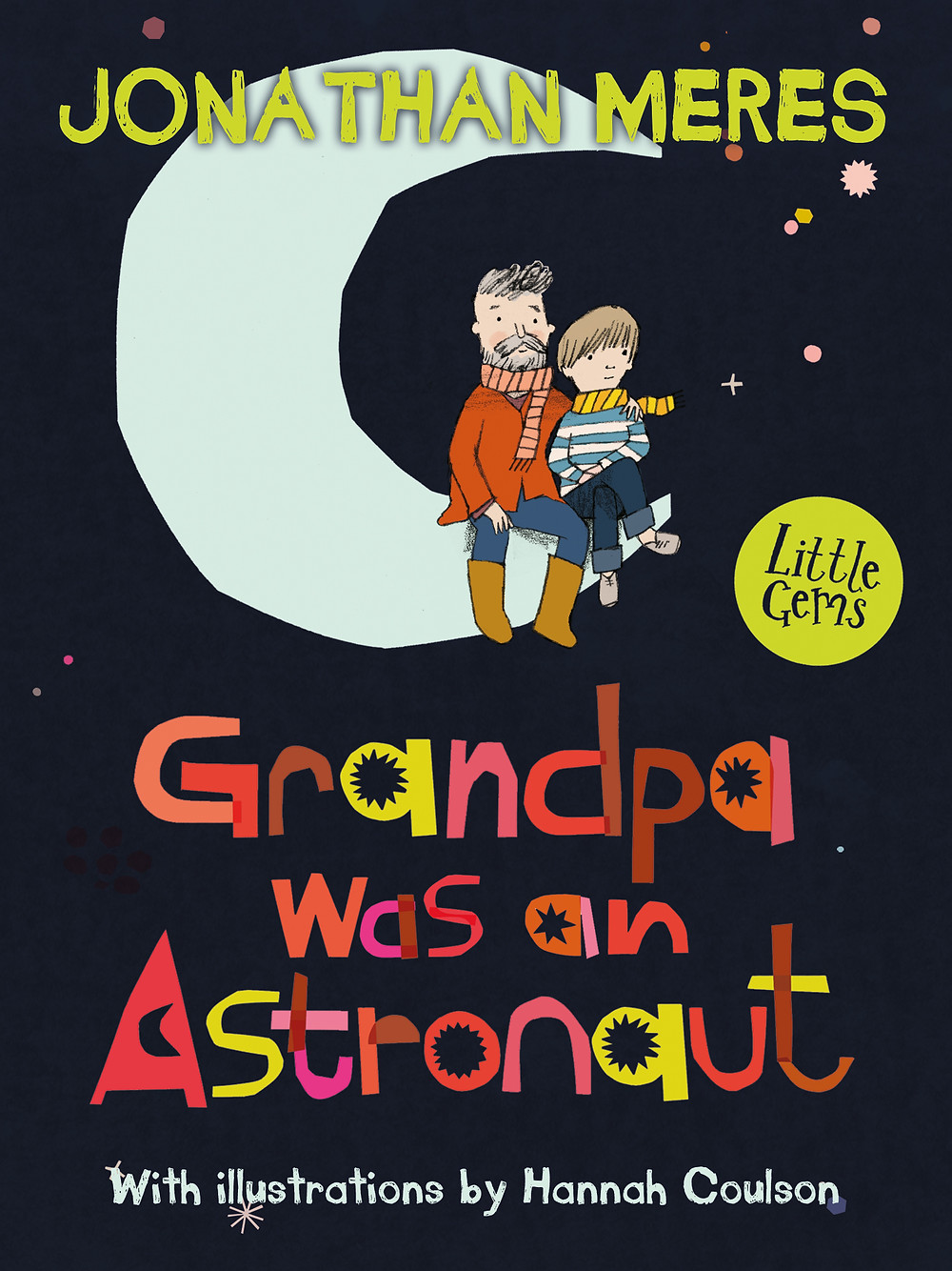 Grandpa was an Astronaut, a children's book about a young boy and his relationship with his grandpa, a former astronaut.