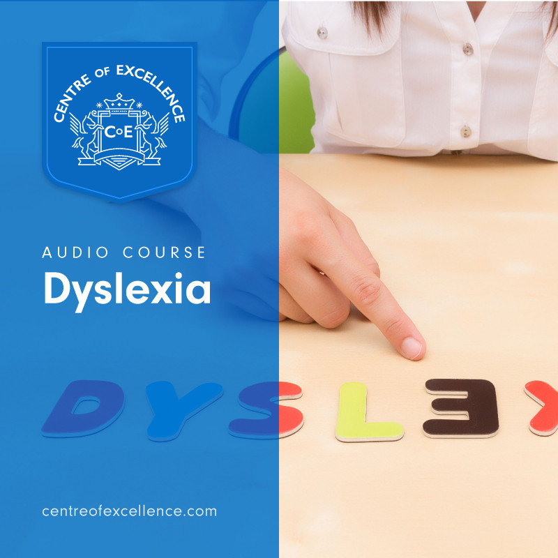 Understanding Dyslexia, a short audio book course that offers the listener a better understanding of dyslexia and how to help dyslexics