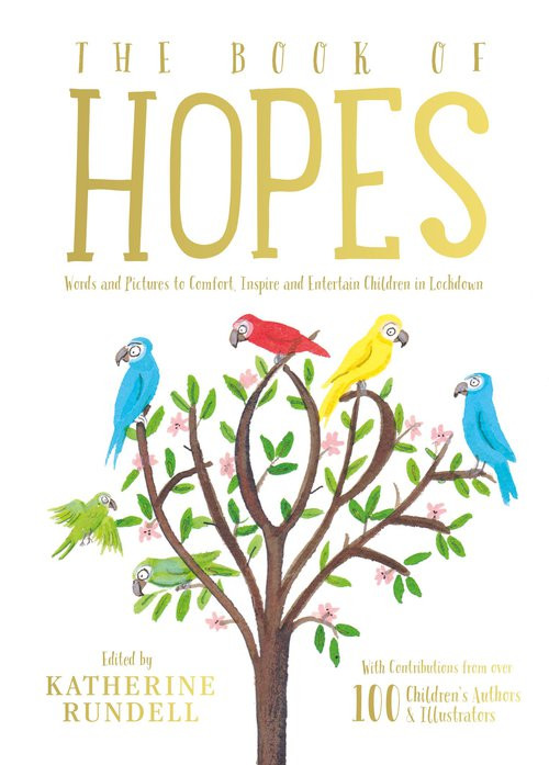 The Book of Hopes, a collection of short stories from famous authors like Anthony Horowitz and Michael Morpurgo