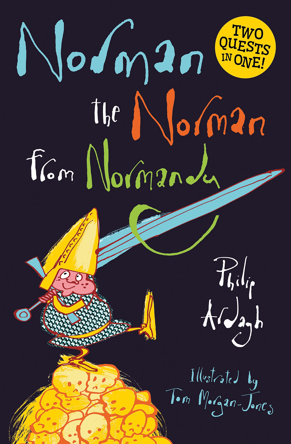 Norman the Norman from Normandy, a children's book written for struggling readers