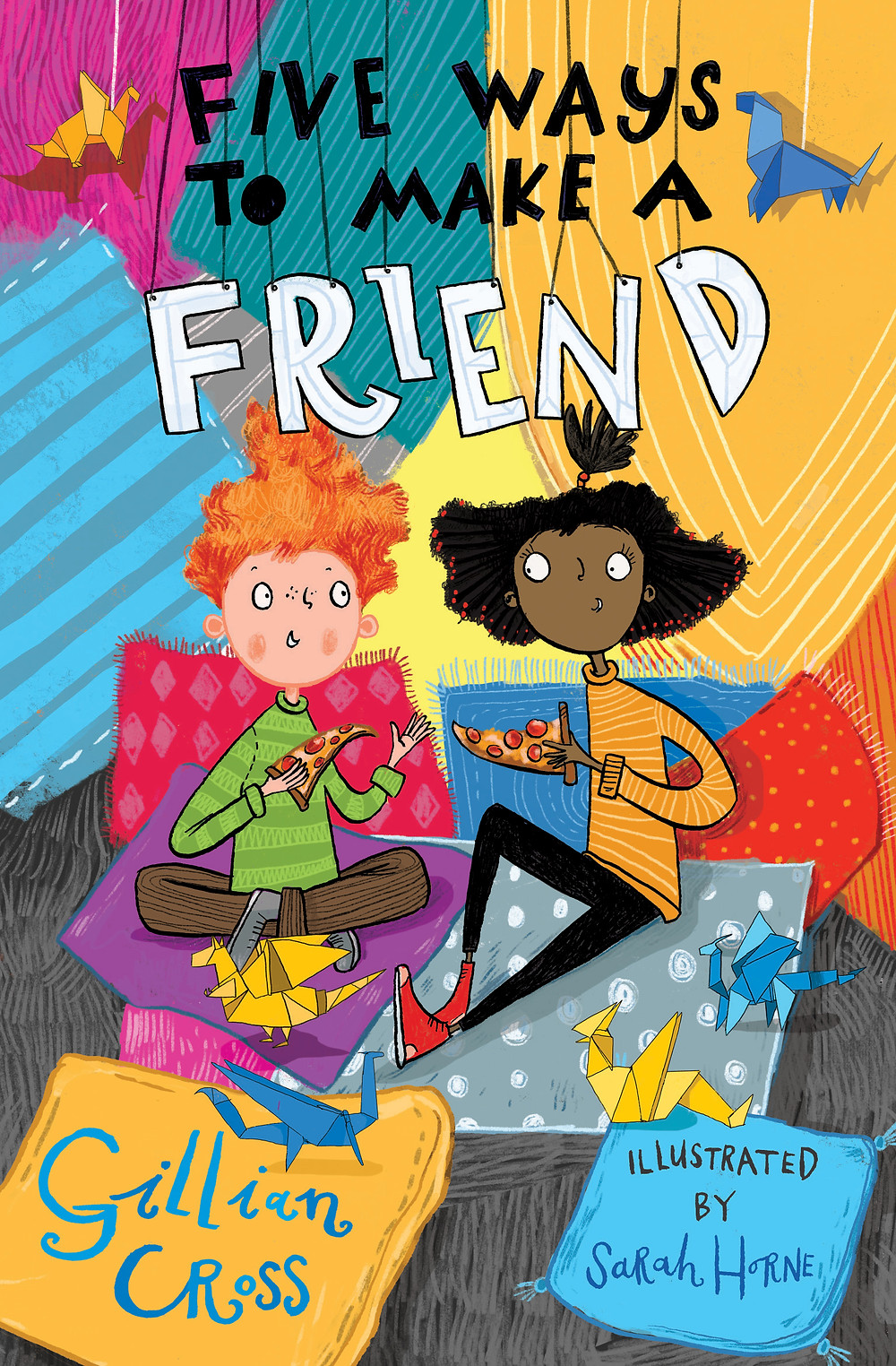 Five Ways To Make A Friend, a children's book about young friendships and relationships