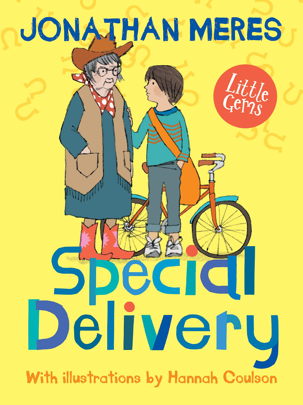 Special Delivery, a book for dyslexic children that explores an unlikely friendship between a boy and his elderly neighbour