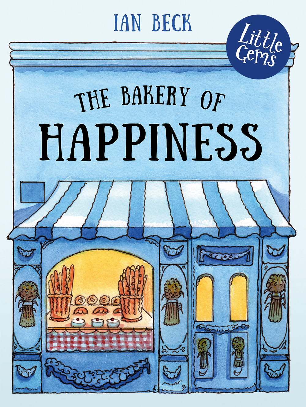 The Bakery Of Happiness, a children's book about a baker and his assistant, written for struggling readers