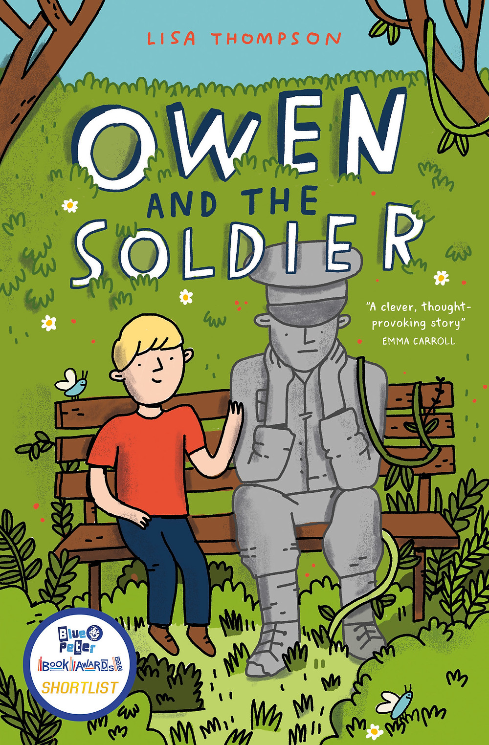 Owen and the Soldier, a book for dyslexic readers about family and friendship