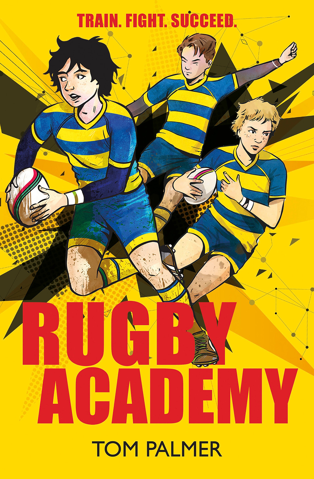Rugby Academy, a children's book about a rugby team and the adventures they face together