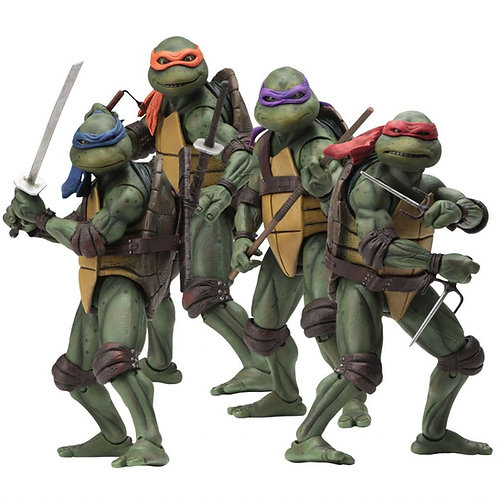 TMNT MOVIE 4 TURTLES PACK (ACTION FIGURE)