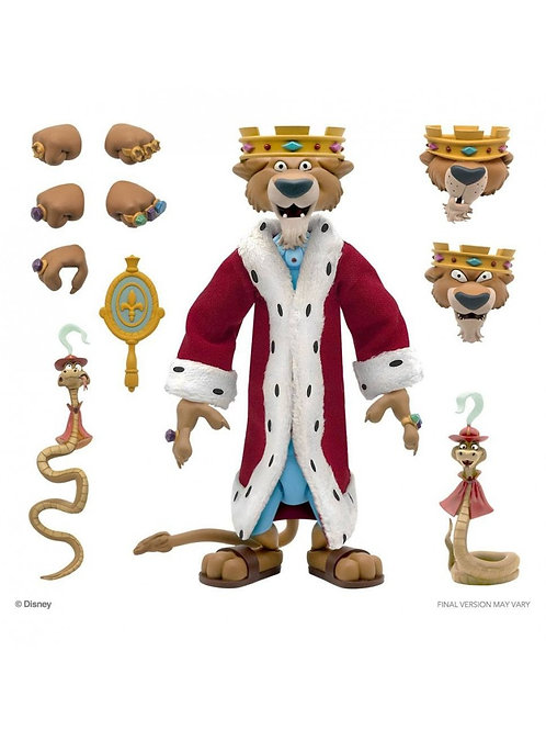 DISNEY ULTIMATE PRINCE JOHN (ACTION FIGURE)