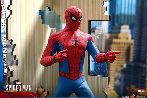 MARVEL'S SPIDER MAN VIDEO GAME MASTERP. SPIDER MAN CLASSIC SUIT (ACTION FIGURE)
