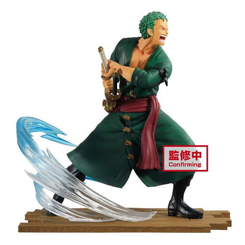 ONE PIECE LOG FILE SELECTION FIGHT RORONOA ZORO (ESTÁTUA)