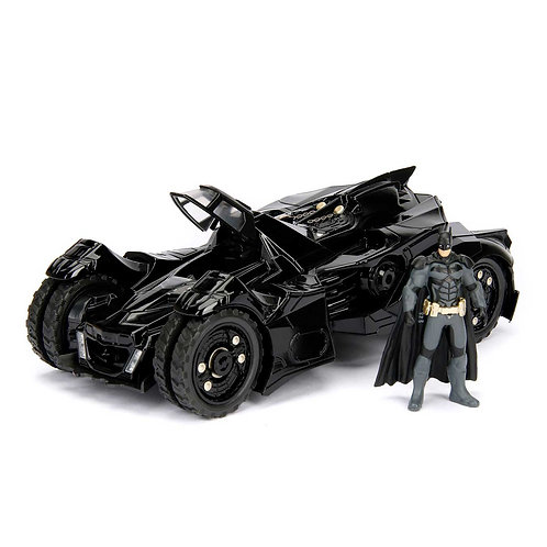 DC COMICS BATMAN ARKHAM KNIGHT DIECAST 2015 BATMOBILE