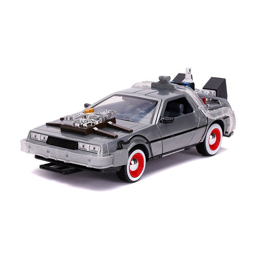 BACK TO THE FUTURE III HOLLYWOOD RIDES DELOREAN TIME MACHINE