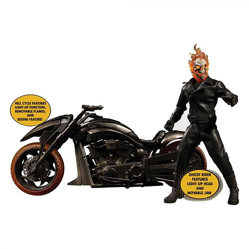 GHOST RIDER GHOST RIDER & CYCLE HELL (ACTION FIGUR