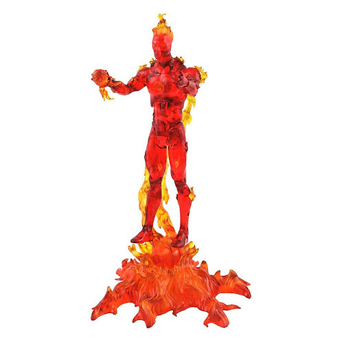 MARVEL SELECT THE HUMAN TORCH (ACTION FIGURE)