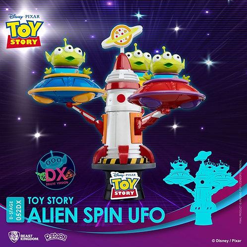 TOY STORY D-STAGE ALIEN SPIN UFO (ESTÁTUA)