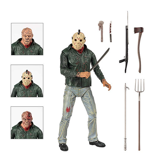 FRIDAY THE 13TH PART 3 ULTIMATE JASON (ACTION FIGURE)