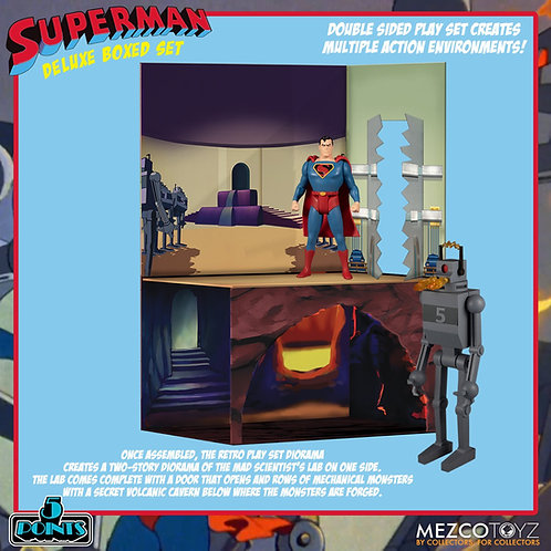 SUPERMAN THE MECHANICAL MONSTERS 1941 DELUXE BOX SET (ACTION FIGURE)