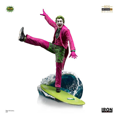 BATMAN 1966 DELUXE BDS ART SCALE THE JOKER (ESTÁTUA)