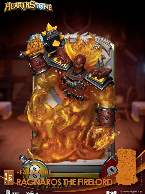 HEARTHSTONE HEROES OF WARCRAFT D-STAGE RAGNAROS THE FIRELORD (ESTÁTUA)