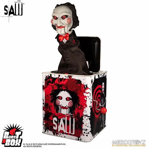 SAW BURST-A-BOX MUSIC BOX BILLY